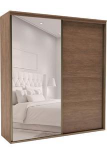 Guarda-Roupa Casal Com Espelho Eleganza 2 Pt 6 Gv Ébano