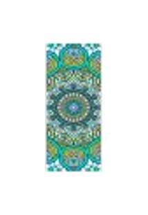 Adesivo Decorativo De Porta - Mandala - 287Cnpt Auto Colante