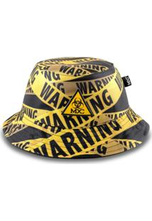 Chapéu Bucket Mxc Warning Preto