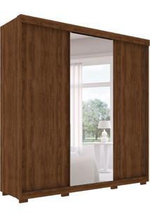 Guarda-Roupa Casal Com Espelho Toronto 3 Pt 6 Gv Jacarandá