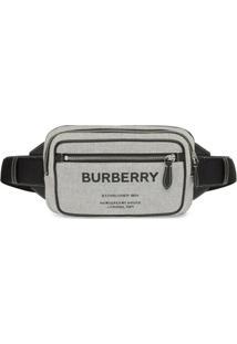 Burberry Pochete Com Estampa Horseferry - Preto