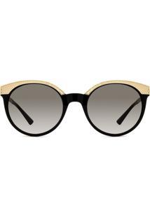 Óculos De Sol Dourado Versace feminino   Gostei e agora  c385c6ddf0