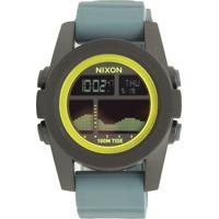 8c26f4d72 Relógio Nixon 99007.A282 Unit Tide Preto/Cinza