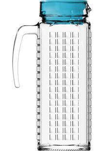 Jarra Com Tampa Ladrilhos 1,2 Litros - Nadir - Sortida