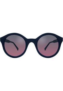 Óculos Solar Bond Street Tate Feminino - Feminino-Azul