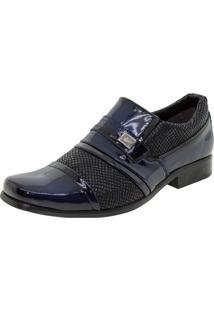 Sapato Masculino Social Marinho Street Man - 462