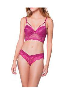 Conjunto Cropped Strappy Nw Bellas/Amare Lingerie (259)