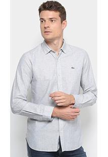 Camisa Lacoste Masculina - Masculino