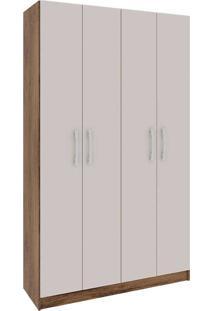 Sapateira Com 4 Portas Floresta-Rodial - Nature / Off White