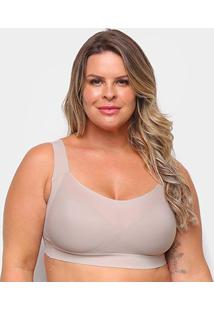 Top Liz Sutop Big Sizes 57357 Feminino - Feminino-Marrom