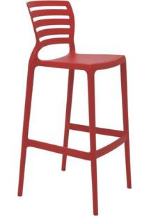 Cadeira Sofia- Vermelha- 104X49,5X47Cm- Tramontitramontina
