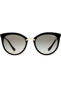 Óculos De Sol Vogue Sweet Side Vo5122Sl W44/11-54 Feminino - Feminino-Dourado