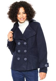 Kanui. Casaco London Couture Comfort Azul c0af92fc43023