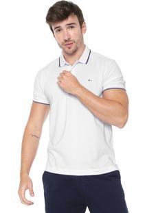 Camisa Polo Aramis Lisa Branca