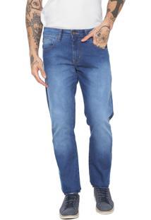Calça Jeans Triton Slim John Azul