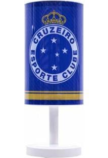 Luminária Abajur Cruzeiro - Unissex-Azul