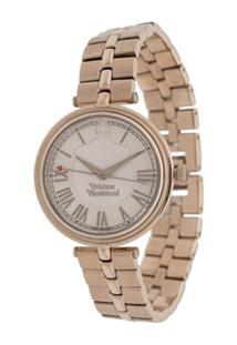 Vivienne Westwood Round Logo Watch - Rosa