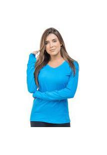 Camiseta Com Capuz 361 Azul