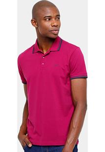 Camisa Polo Sommer Piquet Frisos Masculina - Masculino