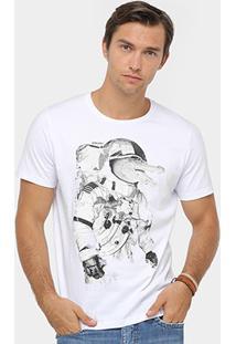 Camiseta Colcci Astronalta Crocodilo Masculina - Masculino