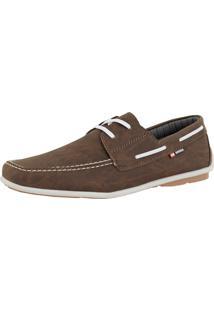Dockside Cr Shoes Casual Sapatofran Sintético Confortável Leve Café