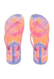 Chinelo Ipanema California Vibe Rosa