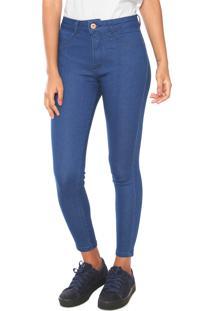 664789692 R$ 54,99. Kanui Calça Jeans Biotipo Skinny Melissa Azul
