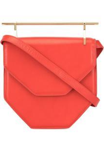 M2Malletier Amore Fati Hexagonal Bag - Vermelho