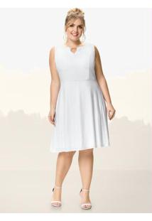 4859168f2 Plus Size Branco Malwee feminino