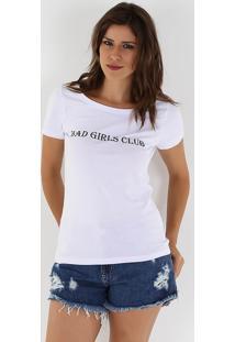 Camiseta Feminina Lara - Branco