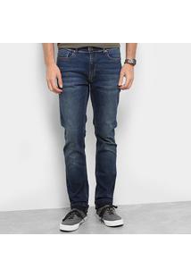 Calça Jeans Skinny Zoomp Masculino Rockabilly Josué Estonada Masculina - Masculino-Jeans