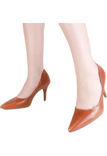 Sapato Feminino Scarpin Lia Line Salto Fino.