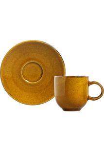 Xícara De Café Stoneware 13Cm Porto Brasil