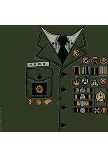 Camiseta General Nerd - Masculina
