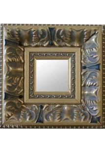 Espelho Moldura 16161 Dourado Art Shop