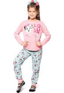 Pijama Dã¡Lmata- Rosa Claro & Azul Claropuket