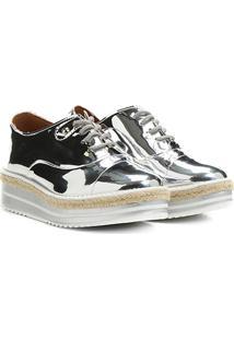 4fd48e9374 Compre de Boa Sapato Vizzano Oxford Metalizado Prata 35. Ir para a loja  Oxford  Vizzano Flatform Corda - Feminino