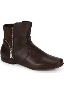 Ankle Boots Mooncity Marrom Marrom