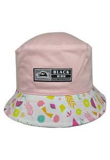 Chapéu Bucket Hats Black Bird Thb 68/R