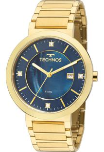 1b75421d997a9 R  224,10. Eclock Relógio Dobrável Analógico Tamanho Grande Feminino Aço  Technos Clock St. 2115ktj 4a Elegance Moritz