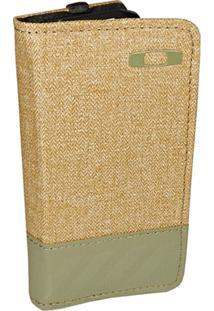 Carteira Oakley Halifax Green Woods Com Case Para Iphone 5 - Masculino