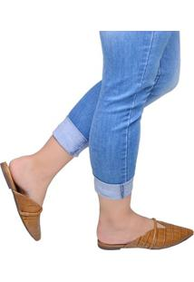 Sapato Feminino Mule Schutz Caramelo