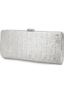 Bolsa Carteira Madame Marie Prata - 4400