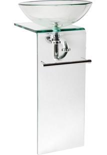 Gabinete Para Banheiro De Vidro Orfeu Astra Gp-O Transparente
