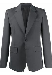 Lemaire Single-Breasted Tailored Blazer - Verde
