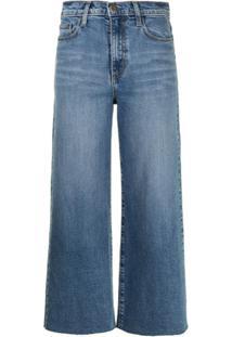 Nobody Denim Calça Jeans Pantalona Cropped Milla - Azul