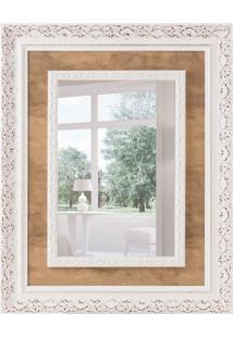 Espelho Decorativo Veneza 78X98 Cm Branco