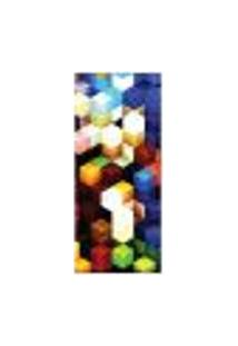 Adesivo Decorativo De Porta - Abstrato - 1222Cnpt