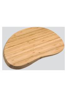 Amaro Feminino Oikos Tábua Irregular Arredondada 36Cm, Bambu