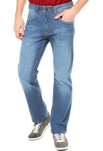 Calça Jeans Billabong Reta Wash Azul